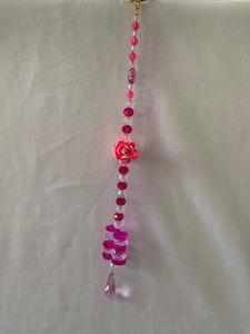 Handmade By Bronzerose Rose  Suncatcher 2021
