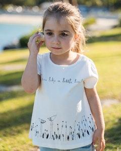 Free Like A Little Bird Certified Organic Cotton A-Line T-shirt