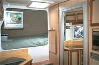 Motorhomes come with creature comforts