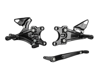 Bonamici Racing Rearsets (Racing Version) To Suit Honda CBR1000RR-R 2020 - Onwards