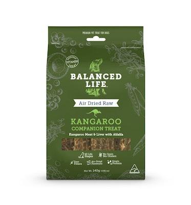 BALANCED LIFE Companion Treats for Dogs -  Kangaroo 140g