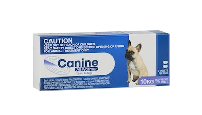 Value Plus CANINE ALL WORMER 10KG - 4 Sizes