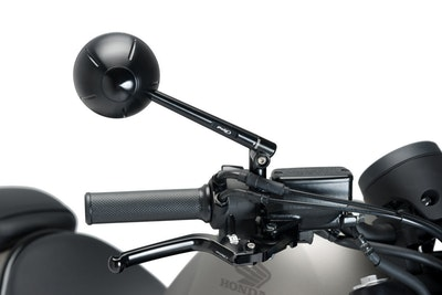 Puig Heritage Brake Lever Adaptor To Suit Honda CMX 500 Rebel/S (Black)