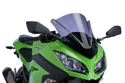 Puig Z-Racing Screen To Suit Kawasaki Ninja 300 2013 - 2017 (Dark Smoke)