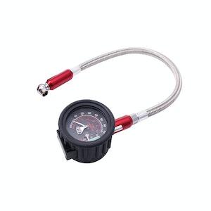 Bike Service Tyre Pressure Dial Gauge