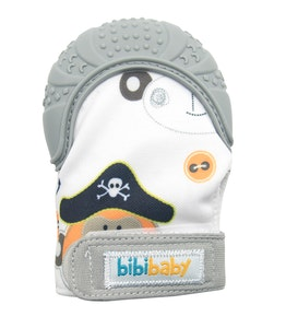 BibiLand BibiBaby Teething Mitts - Grey