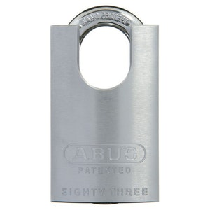 ABUS High Security 83CS/50 50mm Closed Shackle Brass Bodied Padlock