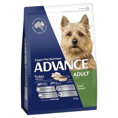 Advance Dry Dog Food Small & Toy Breed 8kg Turkey