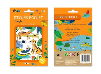 Avenir - Sticker Pocket - Jungle