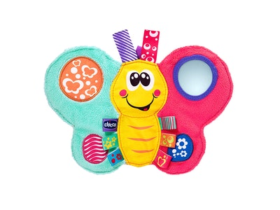 Chicco Daisy Butterfly Textile Rattle