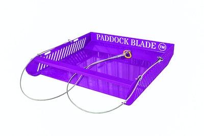 Paddock Blade Horse Paddock Cleaner - Purple