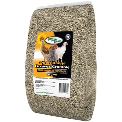 Green Valley Pullet Grower Crumbles Bird Seed Food 5kg