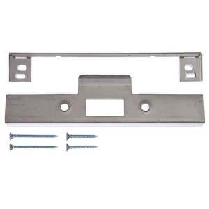 Lockwood 3772 Series Rebate Kit with 32mm Lip Strike Finished in Stainless Steel