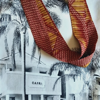 Halinka Design Large Tote - Elwood, Capri Print