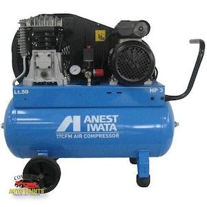 Anest Iwata Air Compressor NB30 3HP 50 Litre