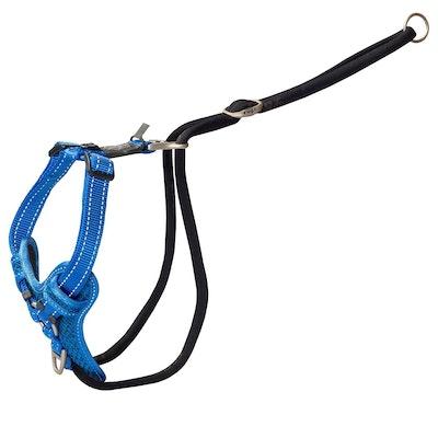 Rogz Control Stop Pull Harness Blue