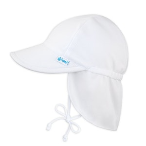 i play. Breathable Flap Sun Protection Hat-White
