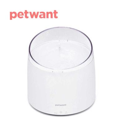 petwant W2 UV Sterilization Smart Pet Water Fountain - White