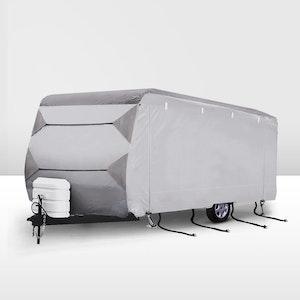 SAN HIMA 22-24ft Caravan Cover 4 Layers