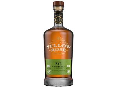 Yellow Rose Rye Whiskey 700mL
