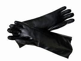 Solvent Gloves Black - 2 Sizes Available