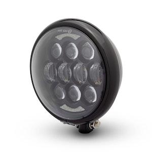 Bates Style LED Multi Projector Headlight - Gloss Black