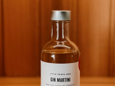 Gin Martini (200ml Bottle - Gin, Extra Dry Vermouth)