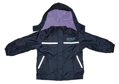 Silly Billyz Waterproof Jacket Lilac/Navy Small