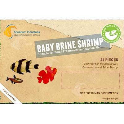 Aquarium Industries AI Nat Baby Brine Shrimp - Frozen 100gm Blist
