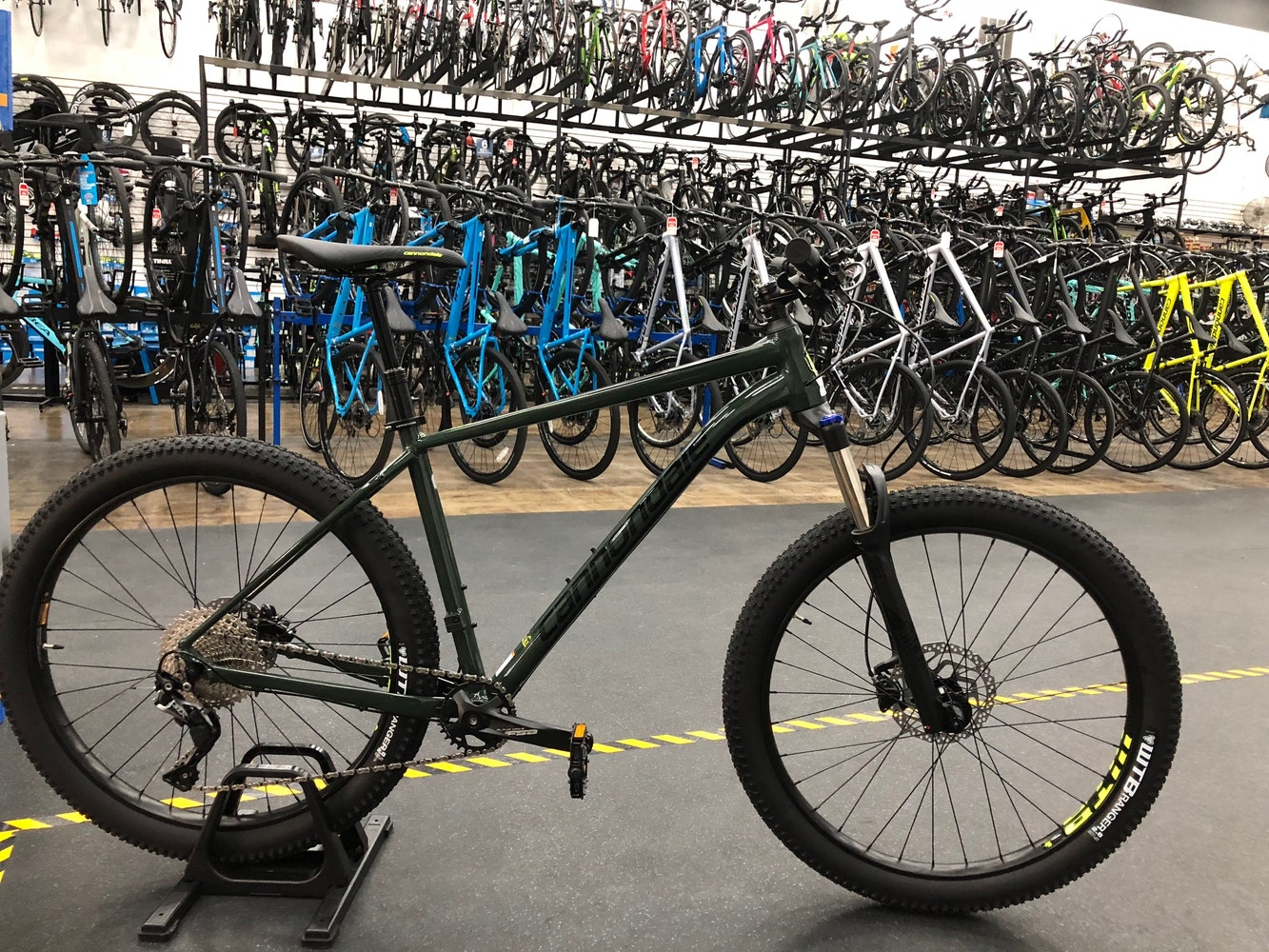 595236994af Cannondale Cujo 2 Green Clay 2019   Hardtail Mountain Bikes for sale in  Dallas