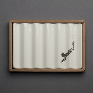Soap Dish with Diving Child