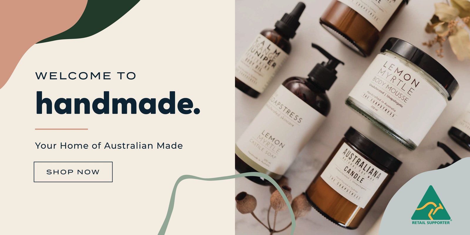 Welcome to Handmade - Your Home of Australian Made