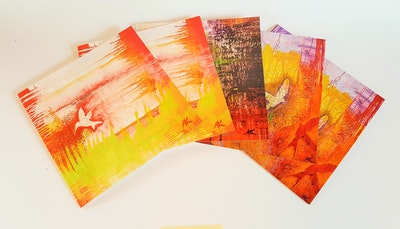 Diilhami Art Funky Five card pack