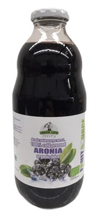 100% Pure Cold Pressed Organic Aronia Juice 1 Litre