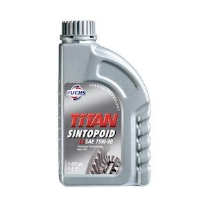 Fuchs Titan Sintopoid FE SAE 75W-85 1Lt Pack Premium Performance Gear Oil