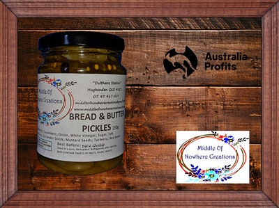 Bread and Butter Pickles 250g