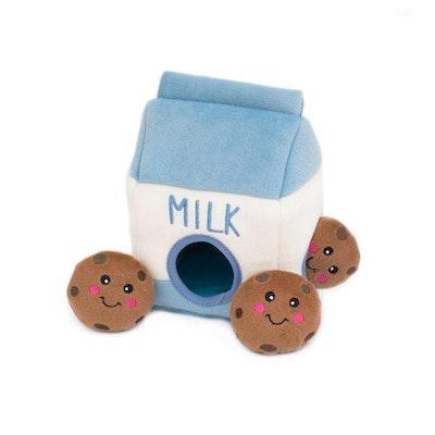 Zippy Paws Burrow Milk & Cookies