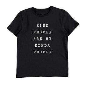 Kind People is my kinda people Tee - Black