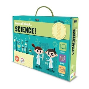 Sassi Junior Sassi - Learn all about Science - Book and Model Set
