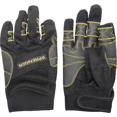 Herm Sprenger FLEXI GRIP GLOVES (No index finger or thumb) - Small, Medium, Large, X-Large