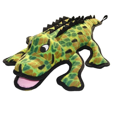 Tuffy Toys Tuffy Sea Creatures Gary Gator Plush Dog Squeaker Toy