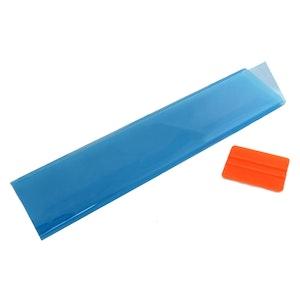 Self Adhesive Blue Tinted Headlight Vinyl Film