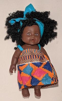 Designed by Florence Kimungu Ima Doll