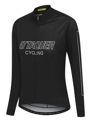 Attaquer Womens All Day Outliner Long Sleeved Jersey Black