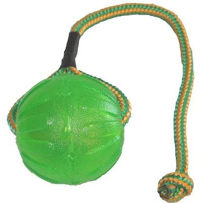 Starmark Swing & Fling Dog Chew Ball Toy Medium/Large