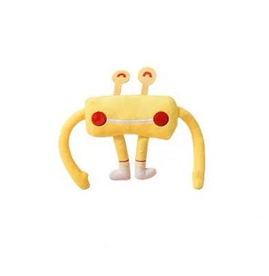 Honeycare Cat Toy - Yellow Crab