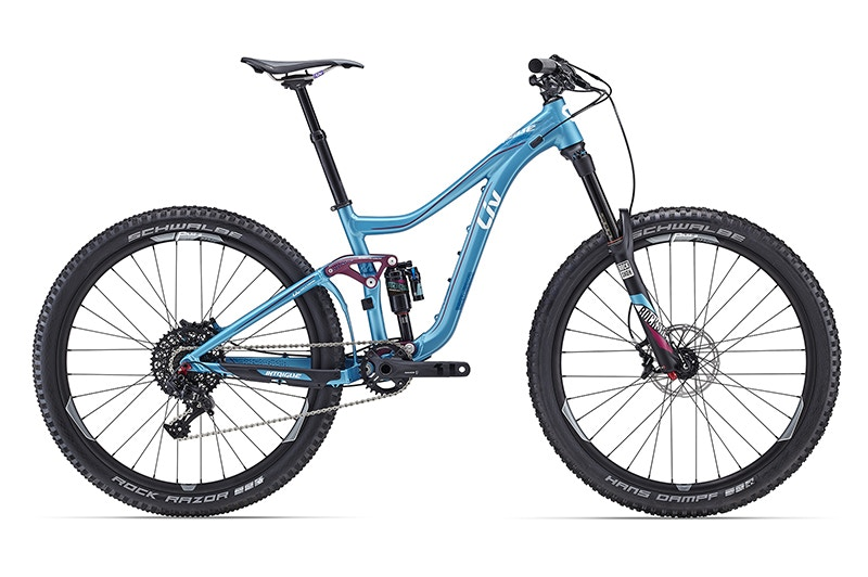 "Intrigue SX, 27.5"" Dual Suspension MTB Bikes"