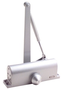 Ryobi S64S budget door closer for hollow core doors up to a 75kg in silver finish