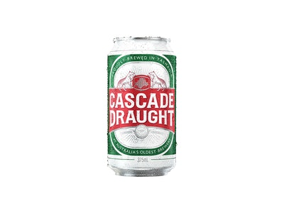 Cascade Draught Can 375mL (AVAILABLE IN TASMANIA ONLY)