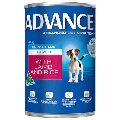 Advance Growth Puppy Lamb & Rice Wet Dog Food 410G